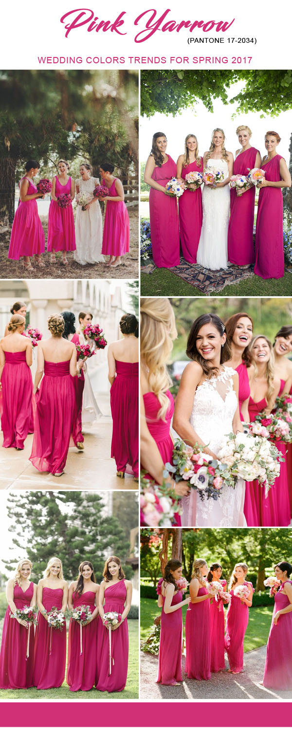 top 10 pantone colors for 2017 spring wedding trends