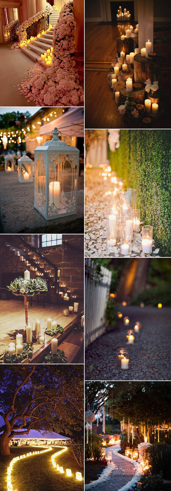 decorative lights for weddings 50 fancy candlelight ideas to add to your 3458