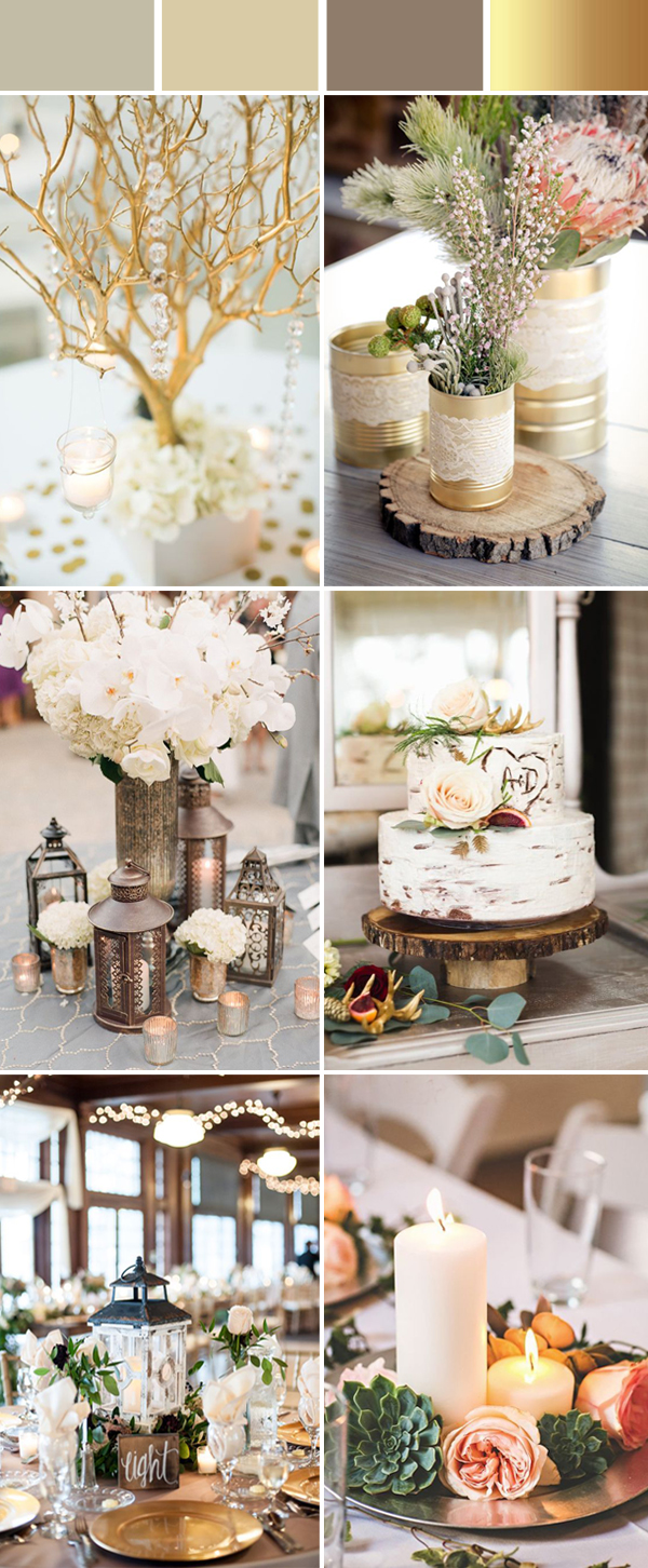 elegant wedding decorations top 10 and chic rustic wedding color ideas 3863