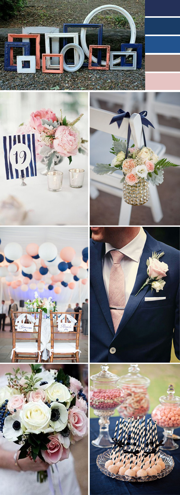 Navy Blue And Purple Wedding Colors Ideas 2018