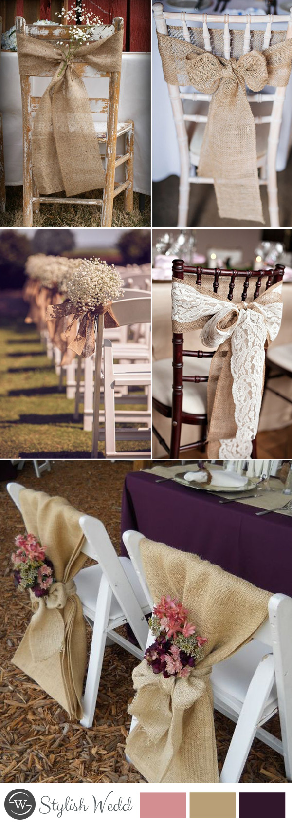 decorating chairs for wedding 50 great ways to decorate your weddding chair stylish 3363