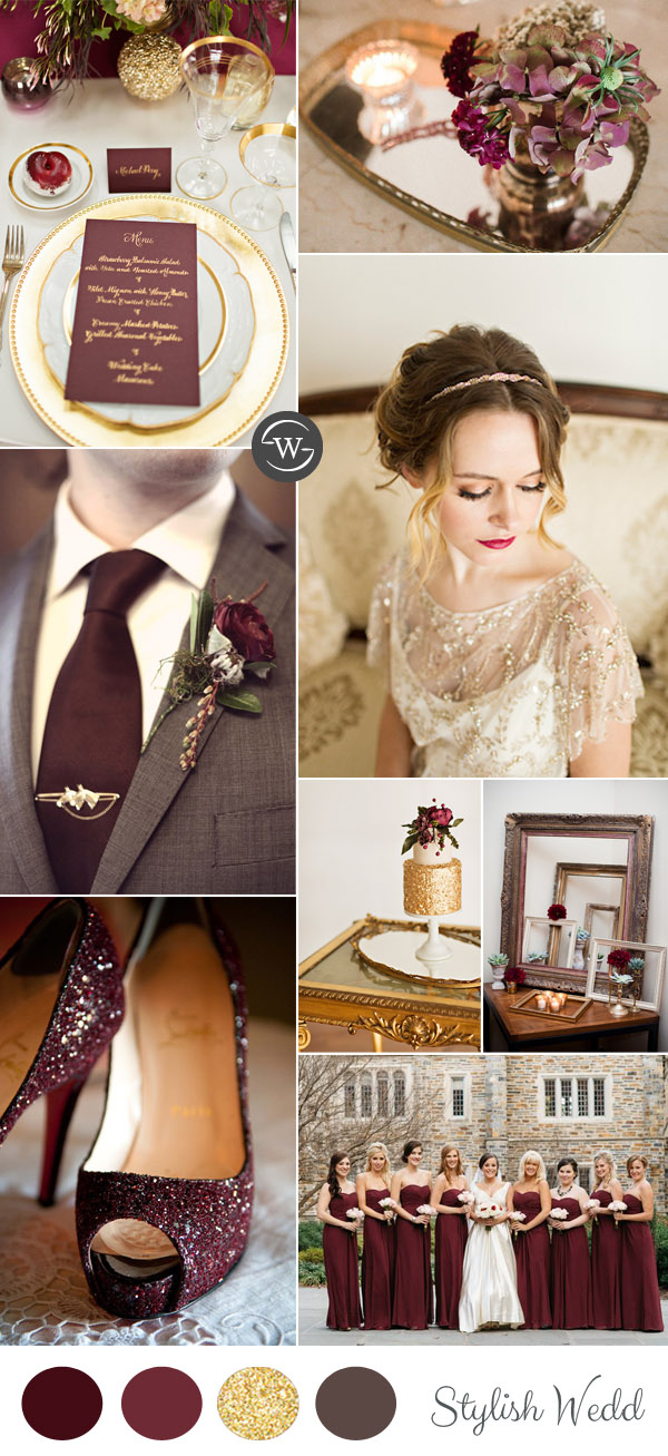 vintage-burgundy-and-gold-wedding-ideas