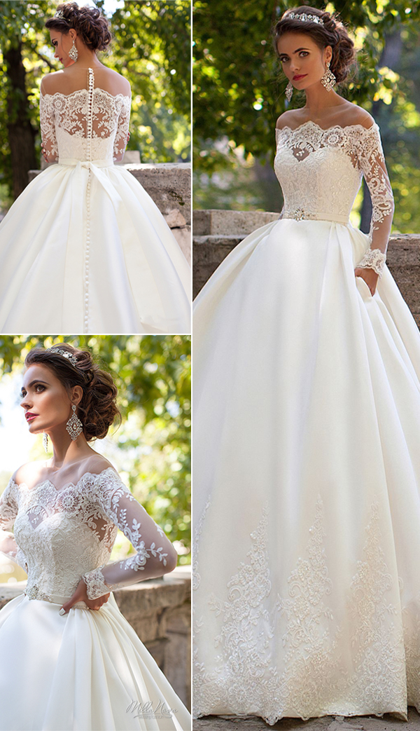 2017-rustic-lace-wedding-dress-with-long-sleeves