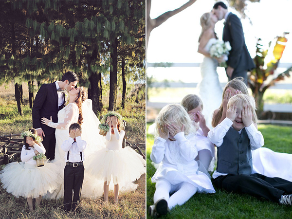 Adorable Wedding Pictures with Flowergirls
