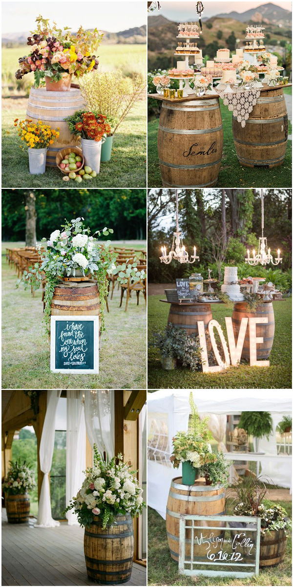 100 Rustic Country Wedding Ideas and Matched Wedding ...