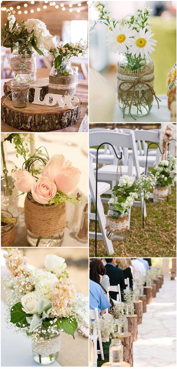 mason jars decorations wedding 100 rustic country wedding ideas and matched wedding 5737
