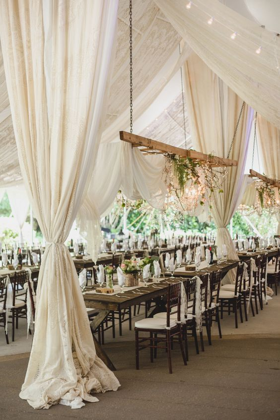 gorgeous-ivory-canopy-decor-for-outdoor-wedding-reception