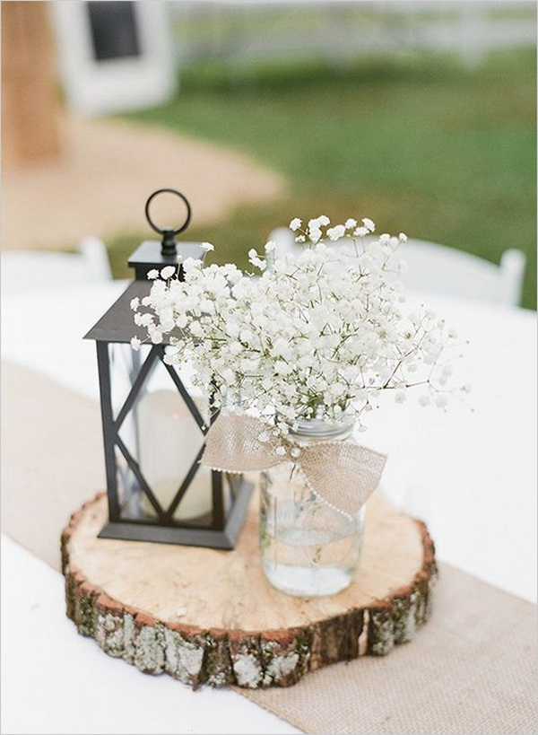white-babys-breath-and-lantern-wedding-centerpiece-for-rustic-wedding-ideas