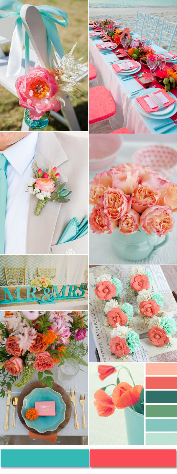 wedding decorations colors 2017 most trendy and color combinations based on the 9095