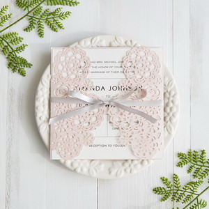 blush-pink-blooms-laser-cut-wedding-invitation-with-grey-band-swws032