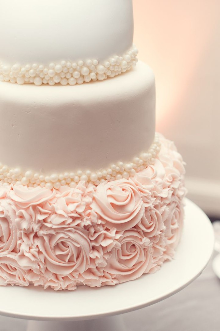 elegant-blush-and-white-wedding-cake-with-pearl-details