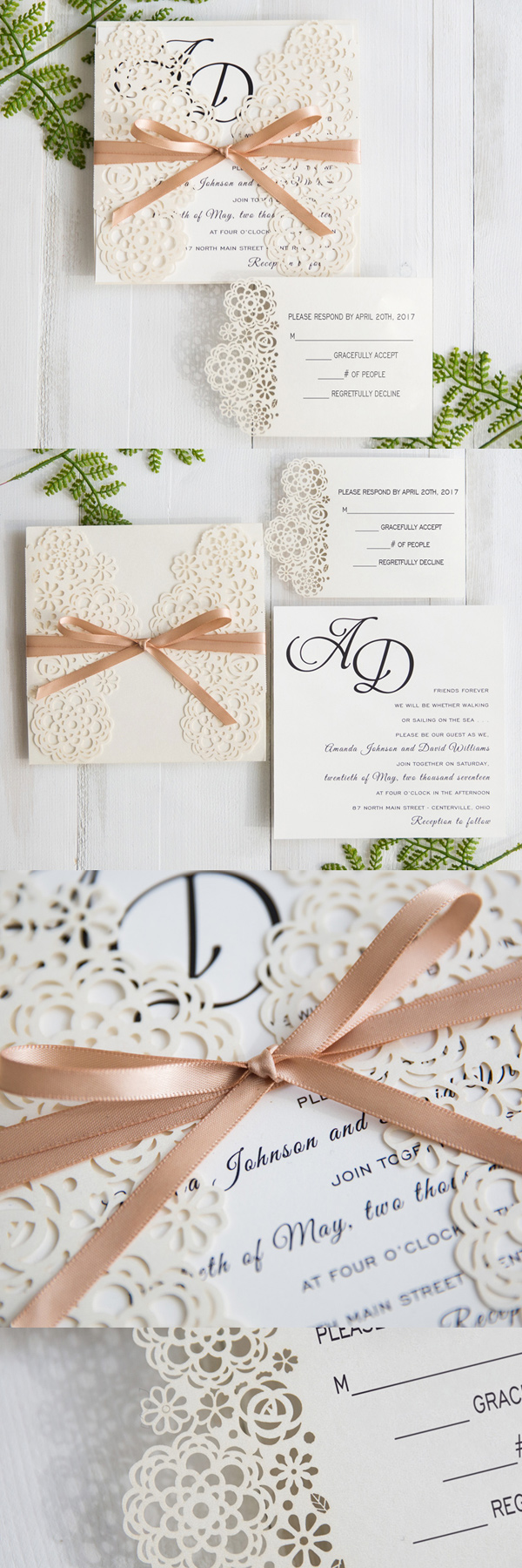 modern-floral-laser-cut-wedding-invitations-with-champagne-band-swws033