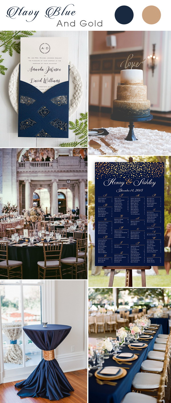 navy-blue-and-gold-wedding-color-combo-ideas-with-wedding-invitation