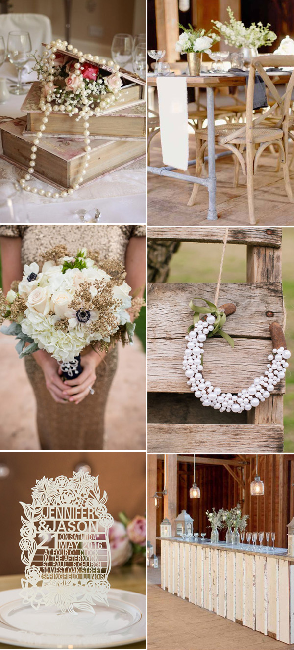 taupe wedding color ideas with perfect invitations
