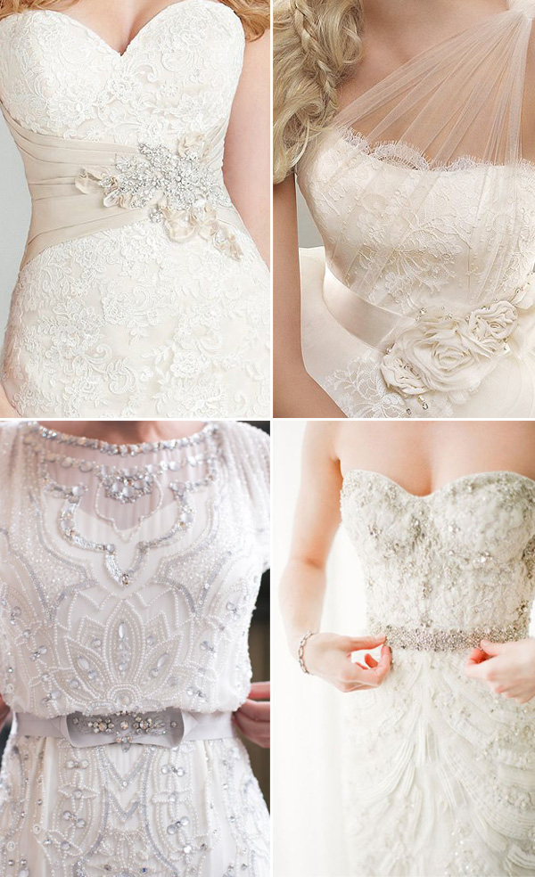 wedding dresses sash ideas you can't miss