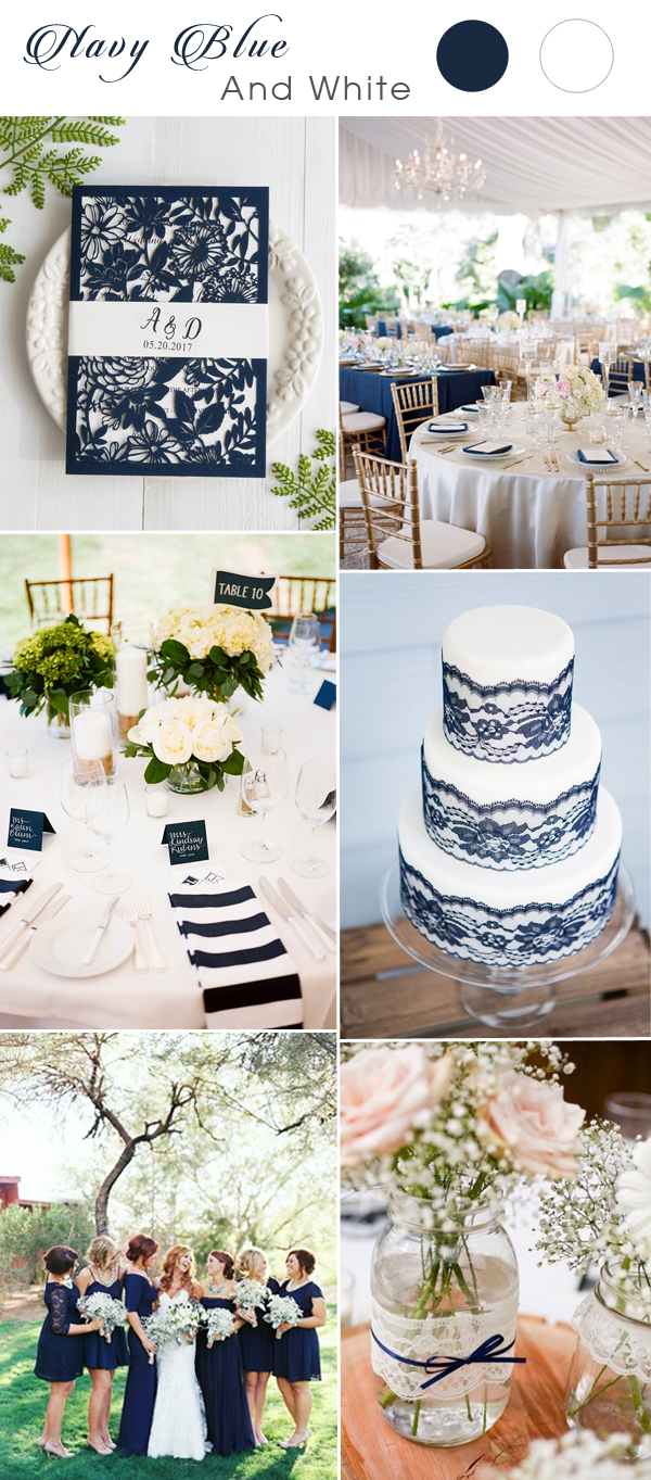 white-and-navy-blue-wedding-color-ideas-2017