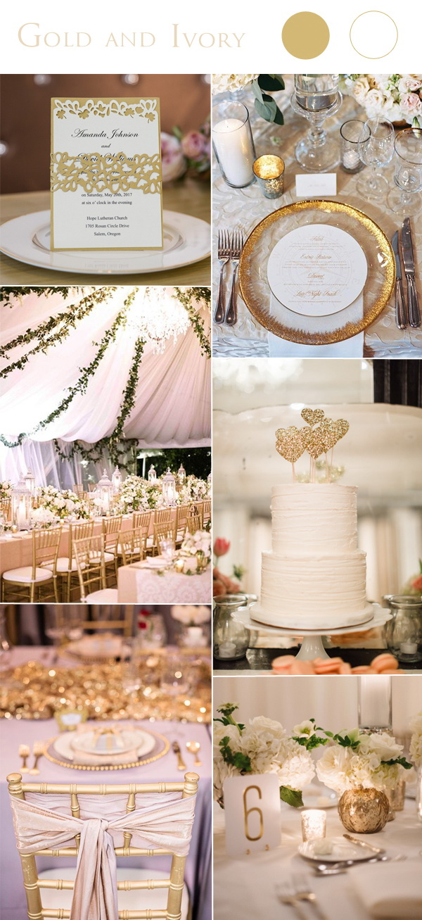 gold-and-ivory-colored-weddings-with-laser-cut-invitation