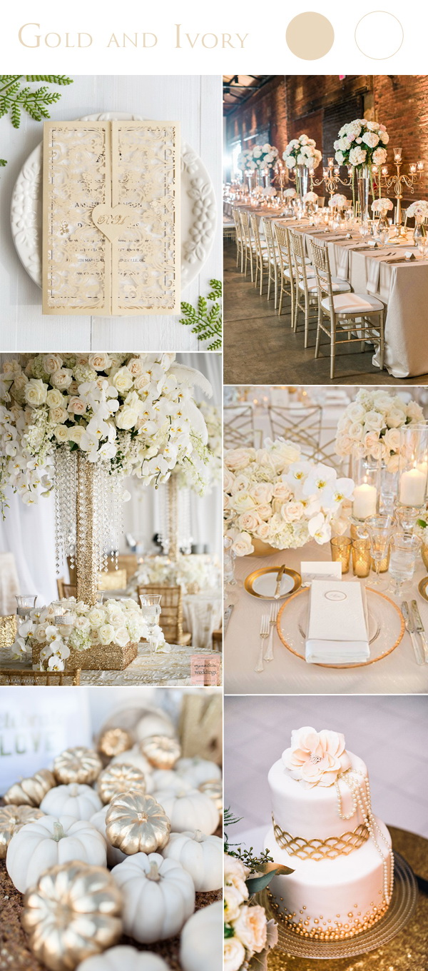gold-and-ivory-wedding-color-combo-ideas-with-matched-wedding-invitation