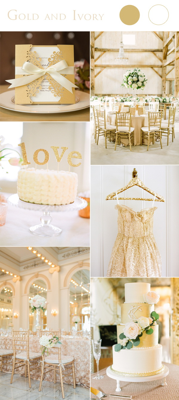 gold-and-ivory-wedding-color-ideas-with-laser-cut-wedding-invite-cards