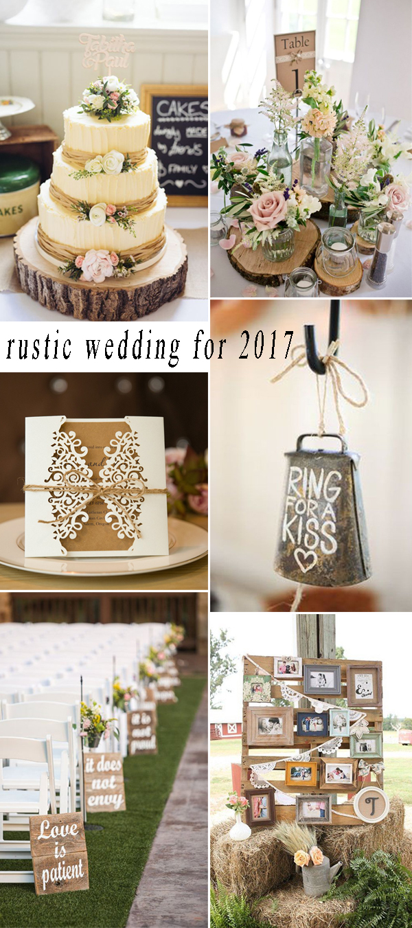 rustic wedding ideas for 2017 trends