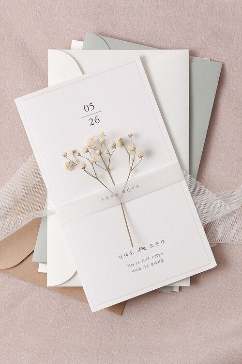 pretty wedding invitation belly band ideas with vellum paper