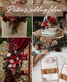 unique rustic wedding ideas for your big day