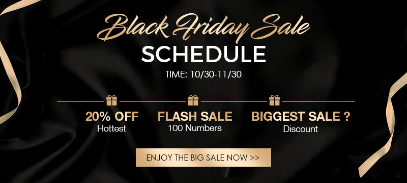 black friday sale schedule