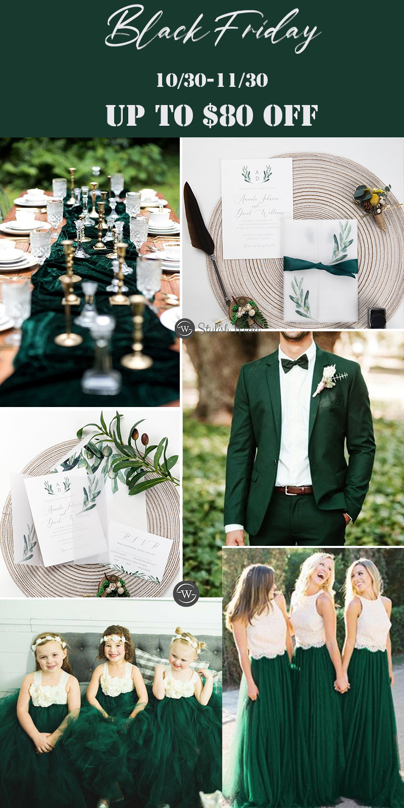 cheap affordable greenery wedding ideas